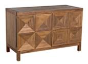 Quadrant 2 Door Sideboard, Dark Walnut