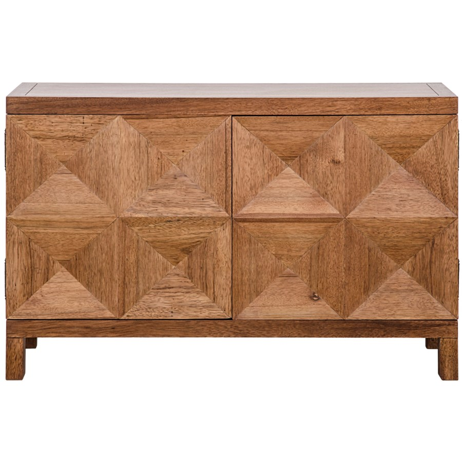 Quadrant 2 Door Sideboard, Dark Walnut
