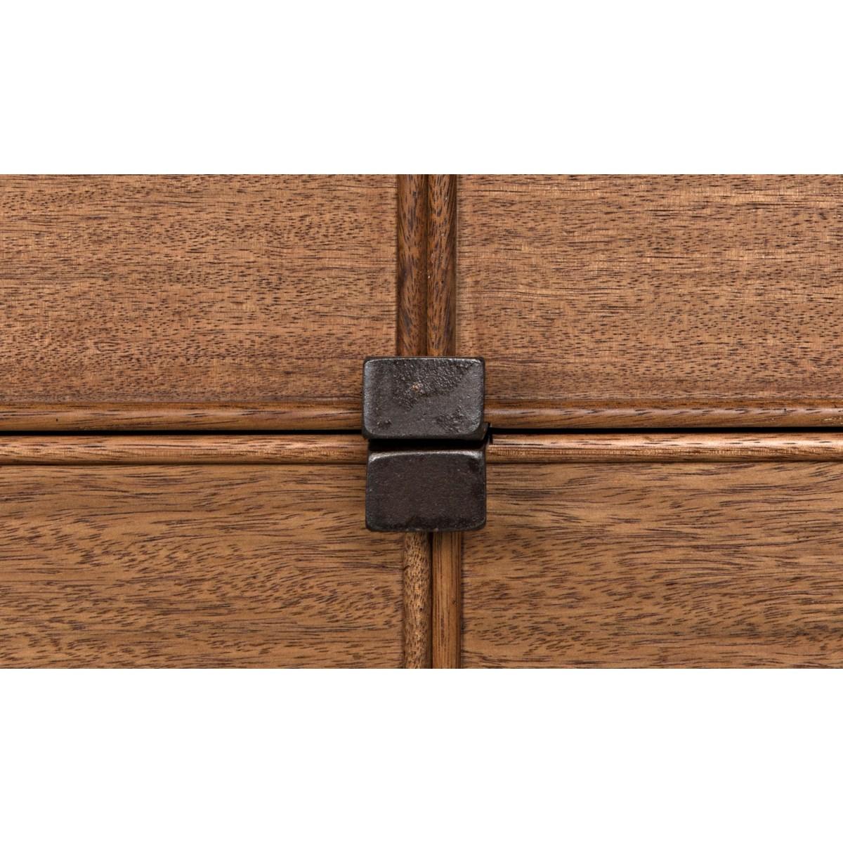Bourgeois Sideboard, Walnut and Metal