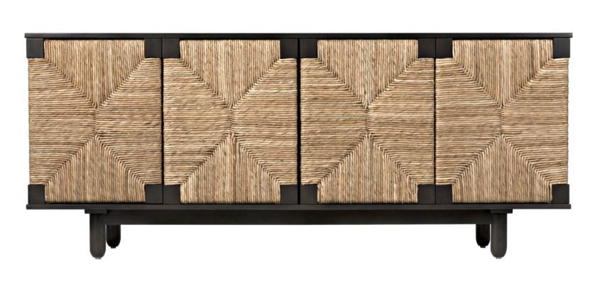 Brook 4 Door Sideboard, Pale