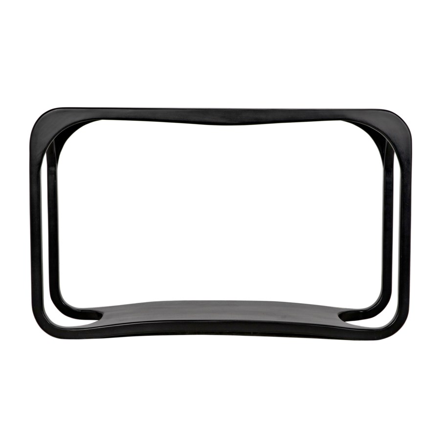 Milena Console, Hand Rubbed Black