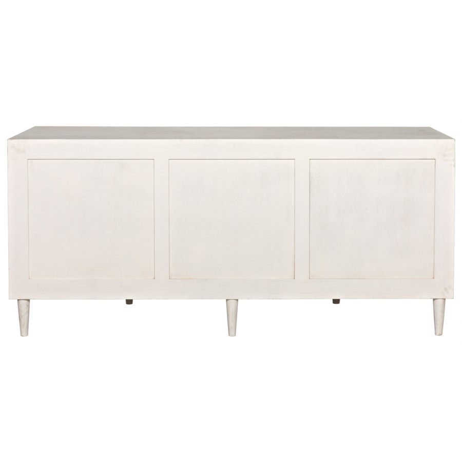 Morten 9 Drawer Dresser, White Wash