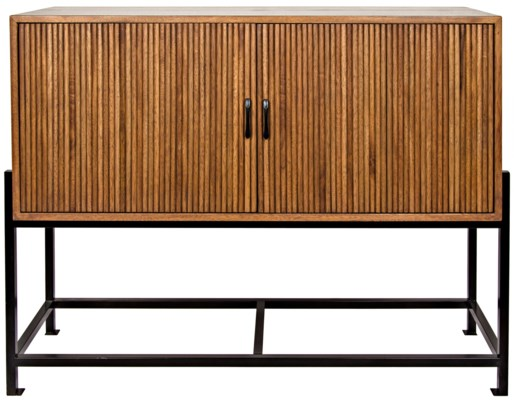Galager Sideboard, Walnut and Metal
