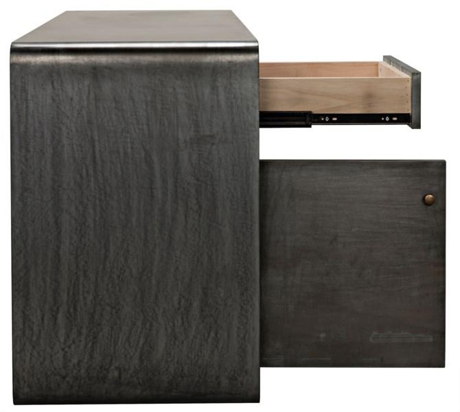 Kirill Sideboard, Plain Zinc