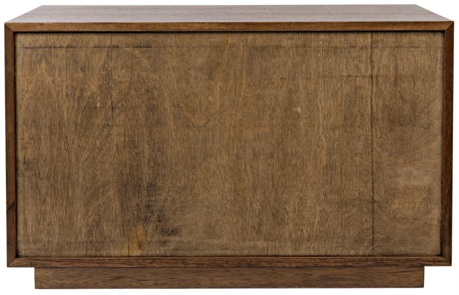 Genti 2Door Sideboard, Dark Walnut