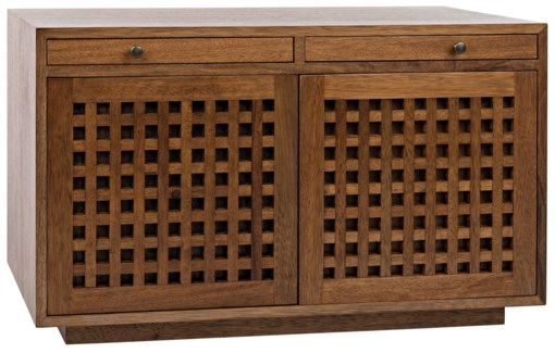 Genti 2Door Sideboard, Dark Walnut