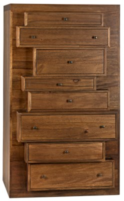 Maga Tall Sideboard, Dark Walnut
