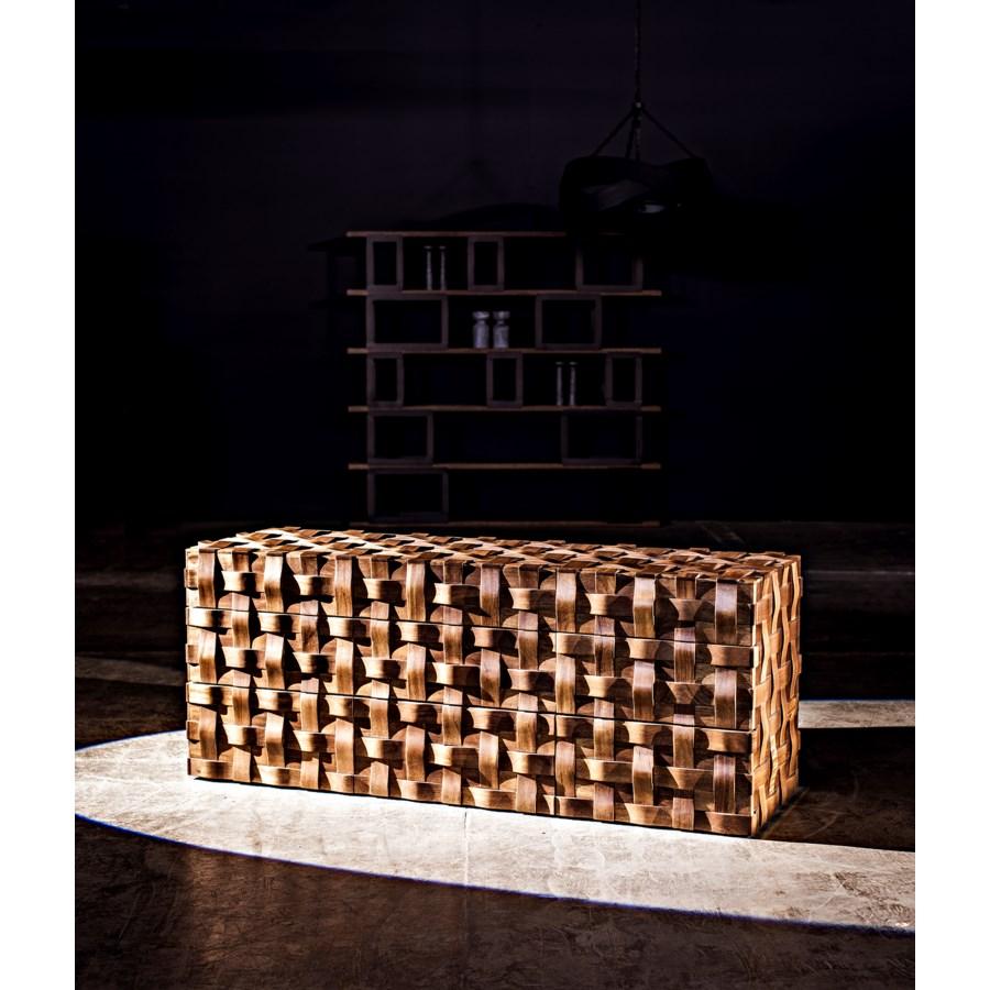 Weave Sideboard, Dark Walnut