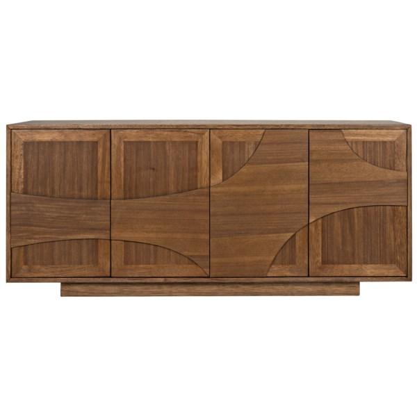 Collage Sideboard, Dark Walnut