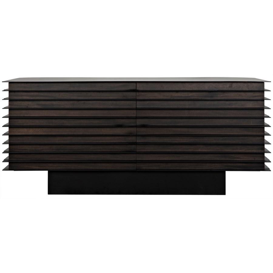 Elevation Sideboard, Ebony Walnut w/Metal
