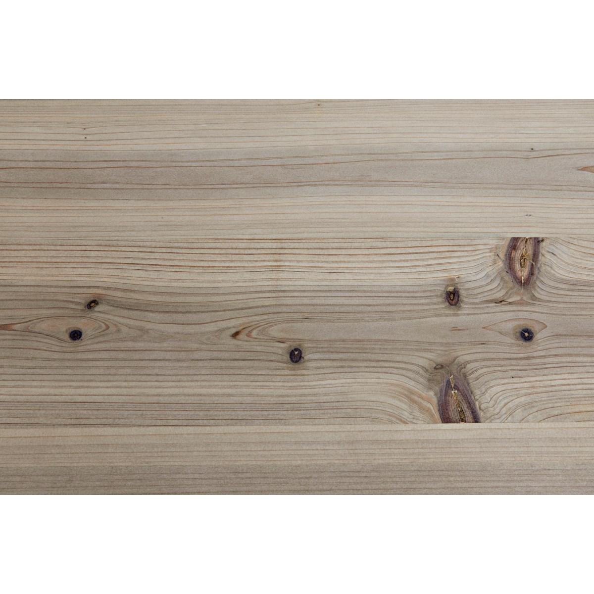 Mendez Sideboard w/Metal, Bleached Wood