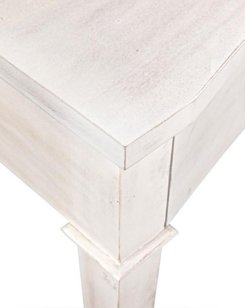 Curba Desk, White Wash
