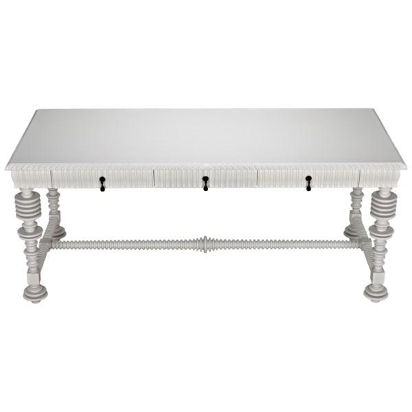 Portuguese Desk, Solid White