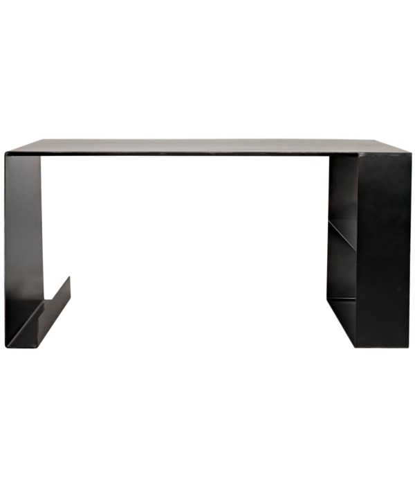 Black Steel Desk