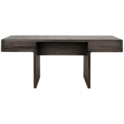 Degas Desk, Ebony Walnut