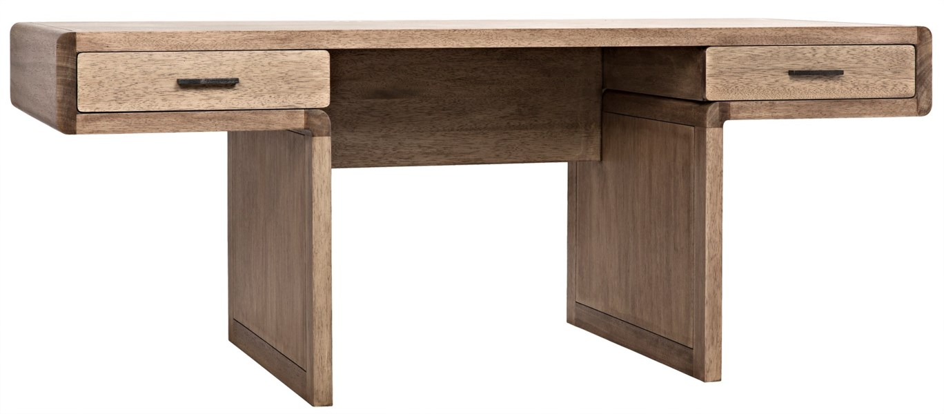 Degas Desk, Washed Walnut