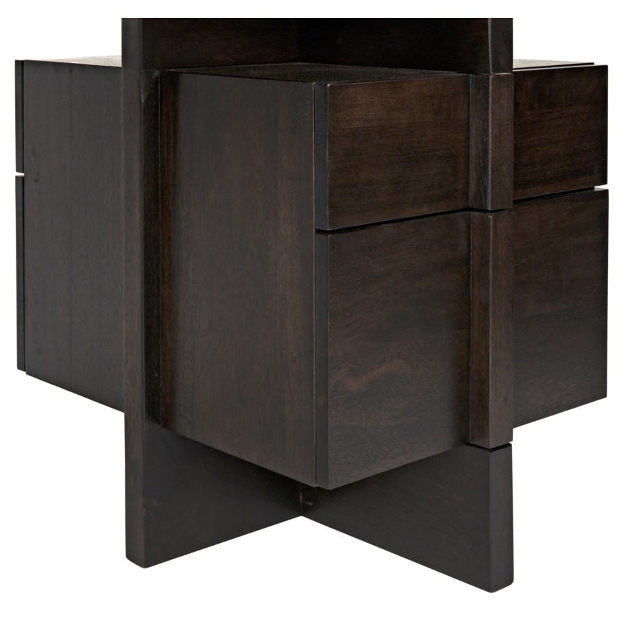 Bridge Desk, Ebony Walnut