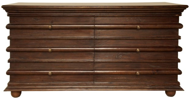 Ascona Chest, Hand Rubbed Brown