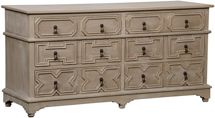 Watson 6 Drawer Dresser, Weathered