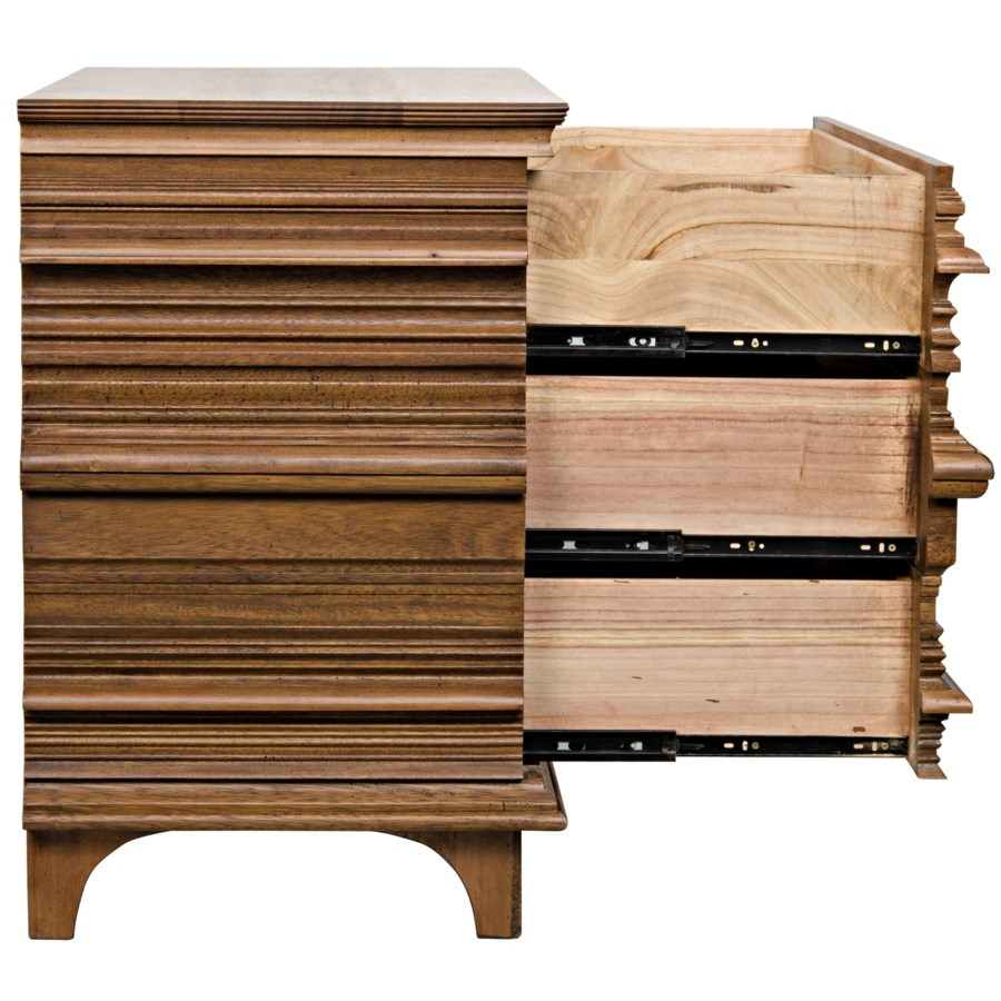 Bernard Chest, Dark Walnut