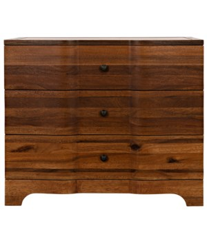 Claudie Chest, Dark Walnut