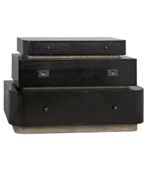 Lector Dresser, Hand Rubbed Black