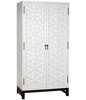 Small Maharadscha Hutch, Solid White