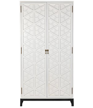 Maharadshcha Hutch, Solid White