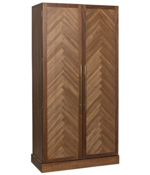 Marigold Hutch, Dark Walnut