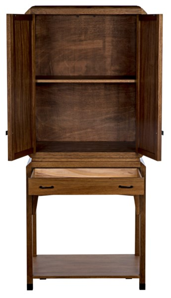 Peso Cabinet, Dark Walnut