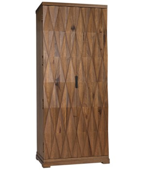 Muna Armoire, Dark Walnut