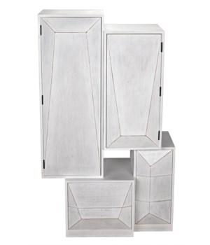 Dakota Cabinet, White Wash