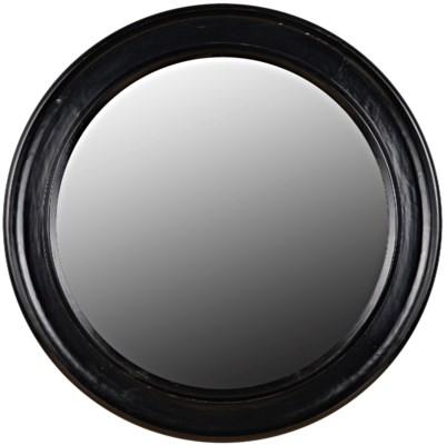 Sutton Mirror, Hand Rubbed Black