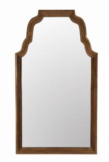 Teak Floor Mirror, Reclaimed Teak