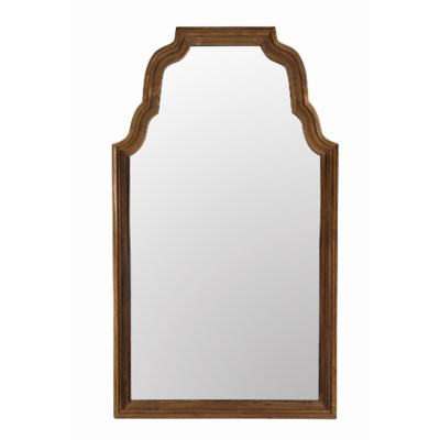 Teak Floor Mirror, Reclaimed Teak