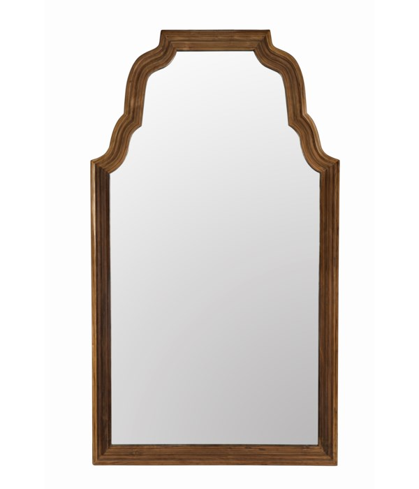 Reclaimed Teak Floor Mirror
