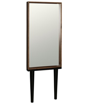 Jung Mirror, Dark Walnut