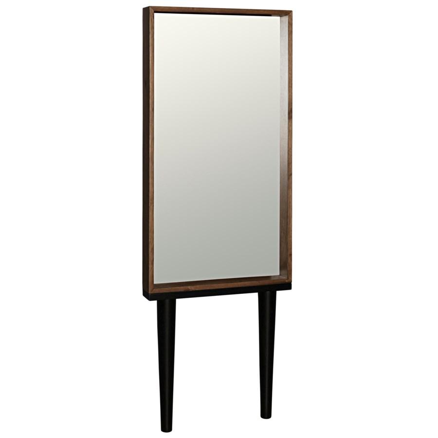 Jung Mirror, Dark Walnut