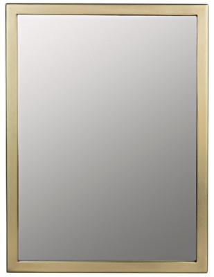 Logan Mirror, Small, Antique Brass
