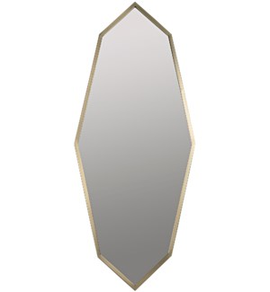 Parsifal Mirror, Antique Brass
