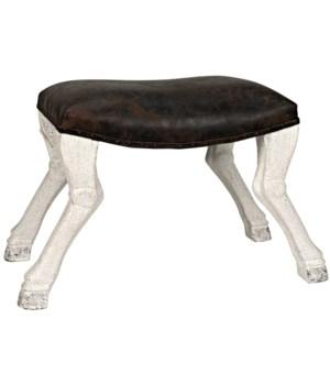 Claw Leg Saddle Stool