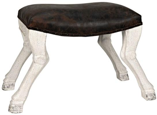 QS Claw Leg Saddle Stool