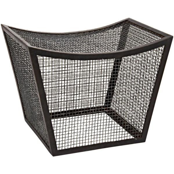 Cage Stool, Metal