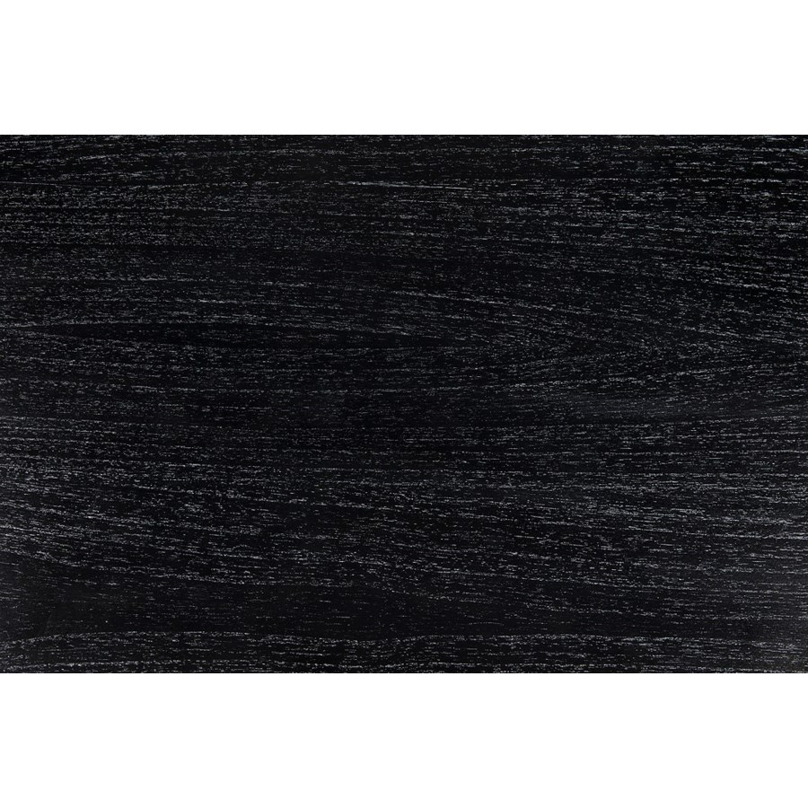 Abacus Counter Stool, Hand Rubbed Black