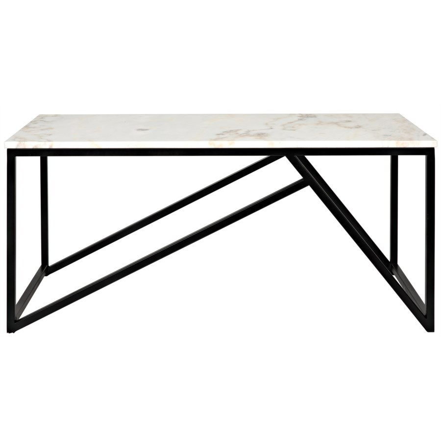 Small Molimo Coffee Table w/Black Metal