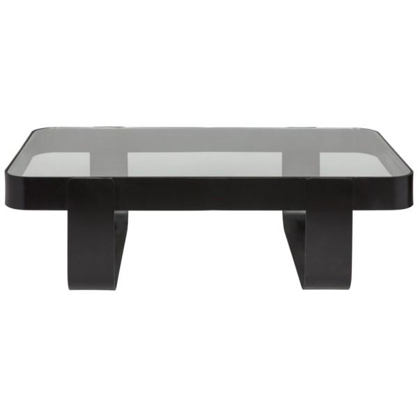 Marshall Coffee Table, Black Metal