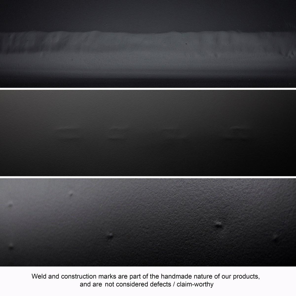 Shift Coffee Table, Black Steel