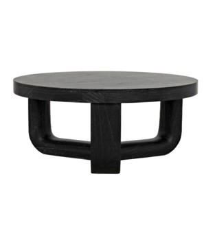 Joel Coffee Table, Cinder Black