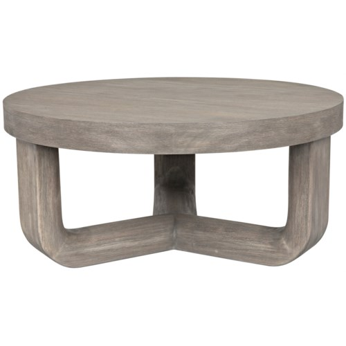 Joel Coffee Table, Distressed Grey