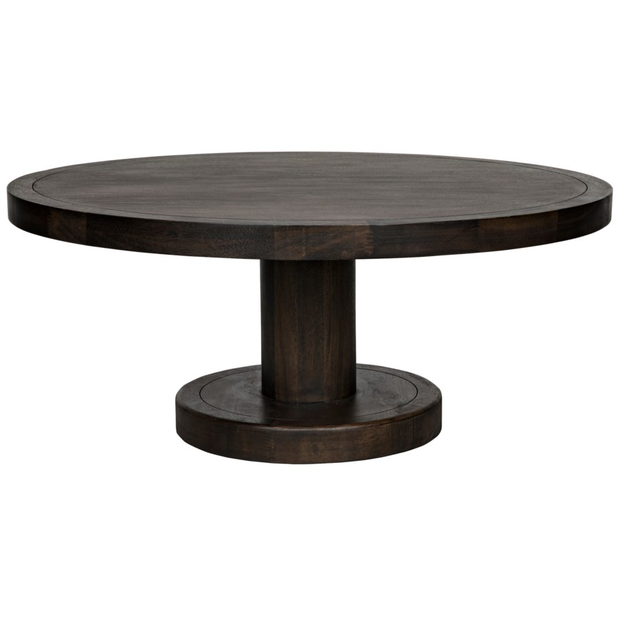 Milena Coffee Table, Ebony Walnut